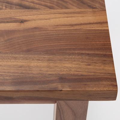 無印良品 | 無垢材テーブル・ウォールナット材・幅80cm幅80×奥行80×高さ72cm 通販