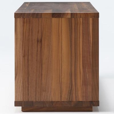 無印良品 | 無垢材テーブルベンチ・ウォールナット材幅120×奥行37.5×高さ44cm 通販