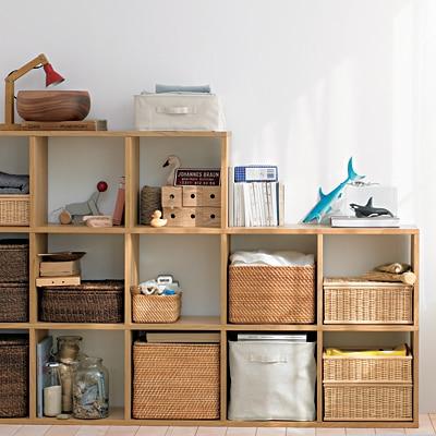 物が取り出しやすいキッチン収納。無印良品とIKEAのおすすめ収納グッズ