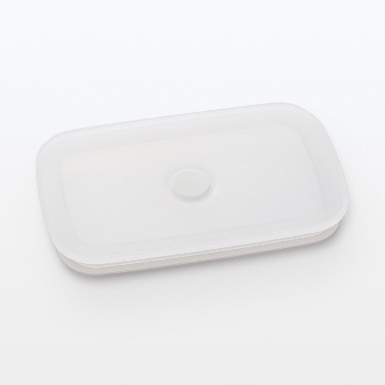 【パーツ】バルブ付き密閉ホーロー保存容器 フタセット・中(バルブ、パッキン付)