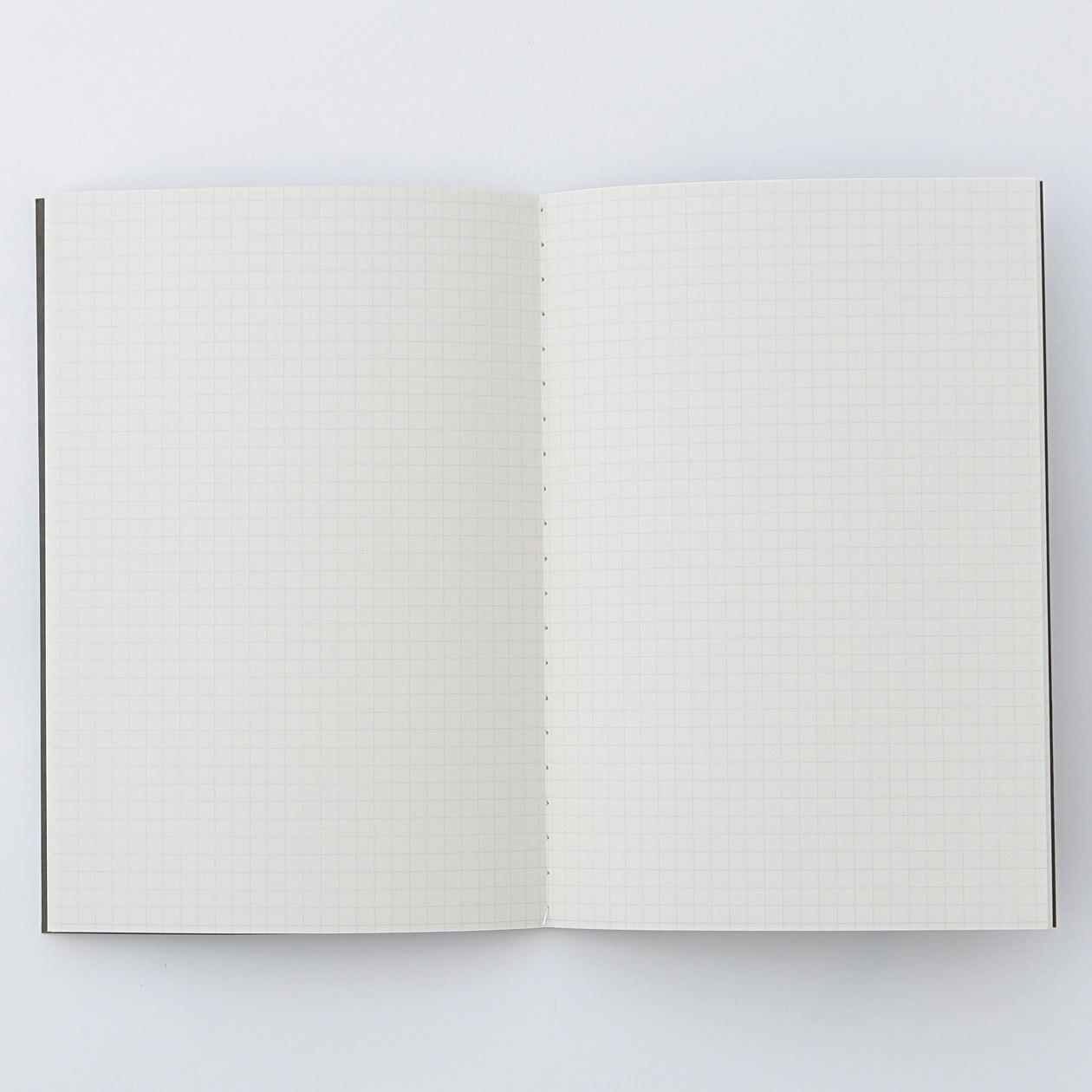 無印良品の「裏うつりしにくいダブルリングノート」は万年筆で心地よく書けるノートだと思う。