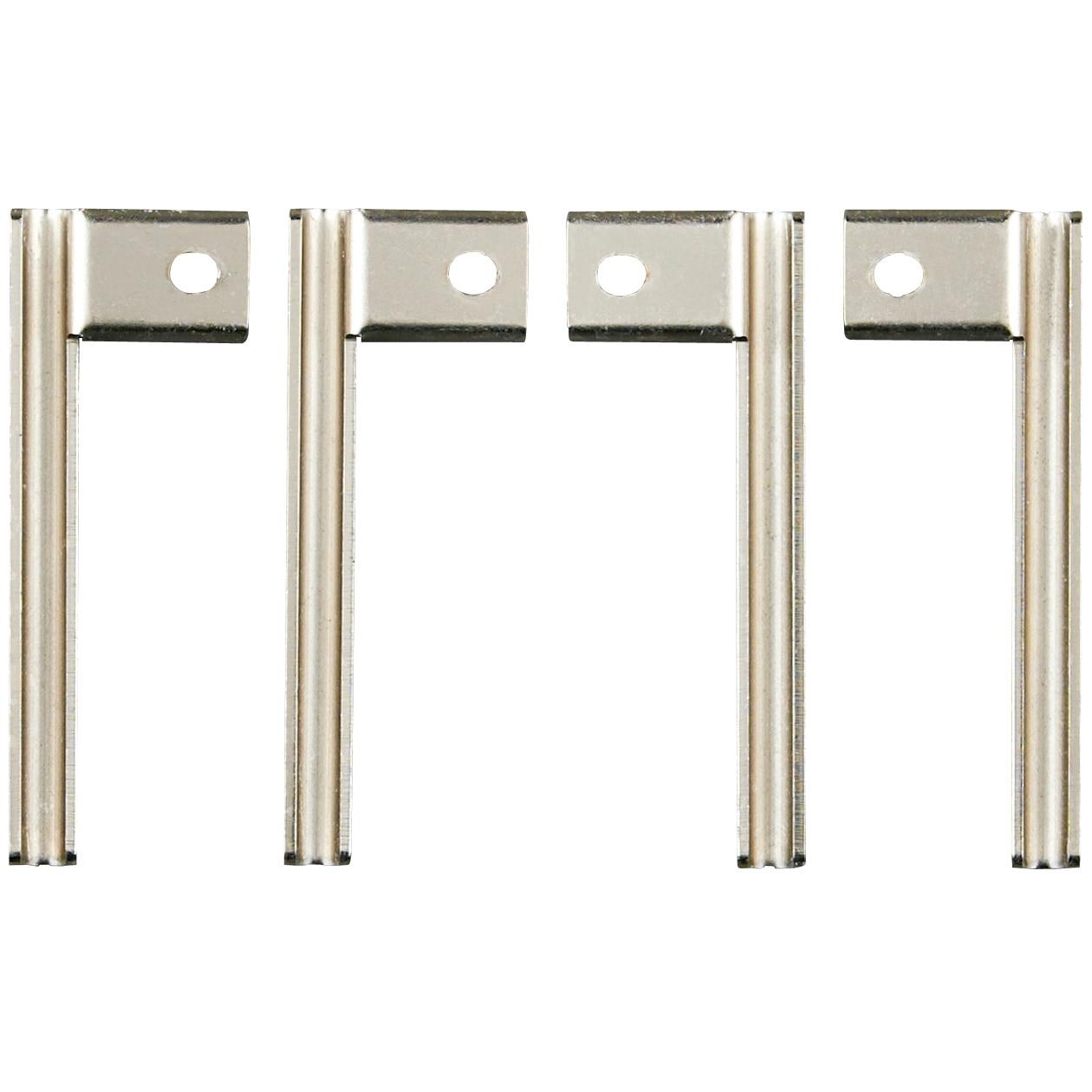 ステンレスユニットシェルフ用高さ調整金具