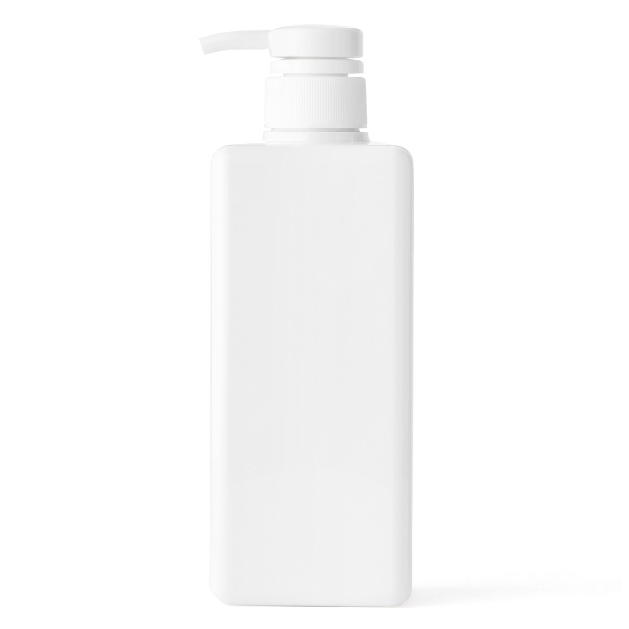 RoomClip商品情報 - PET詰替ボトル クリア 600ml用 ホワイト 600ml用