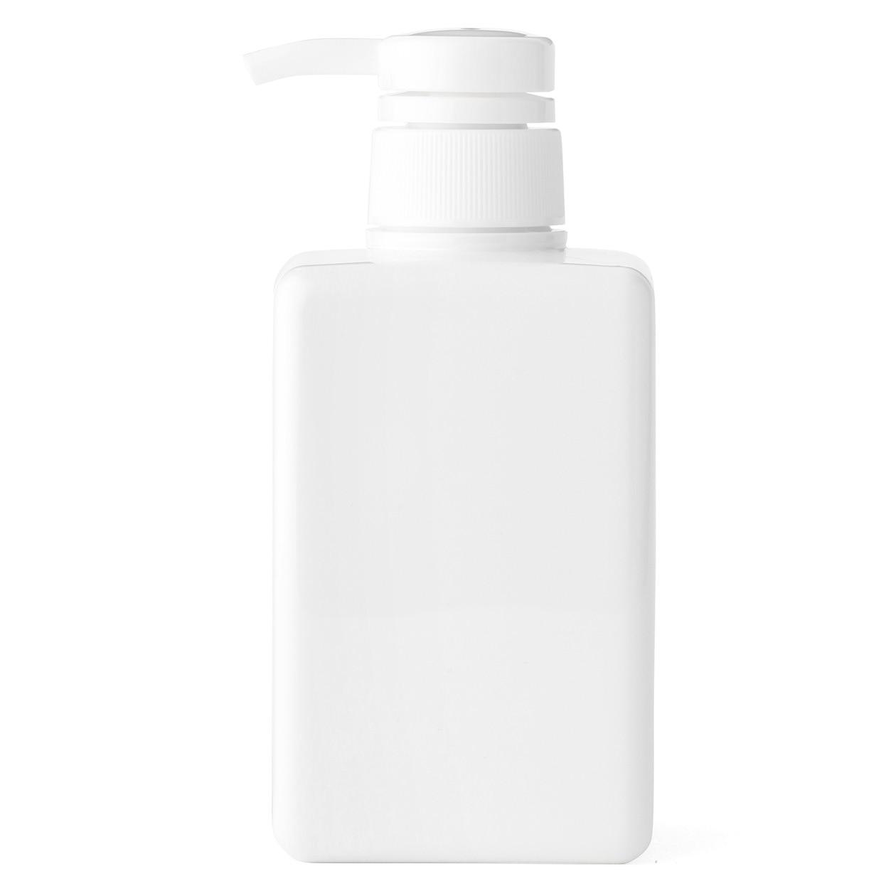 PET詰替ボトル ホワイト 400ml用 ホワイトの写真