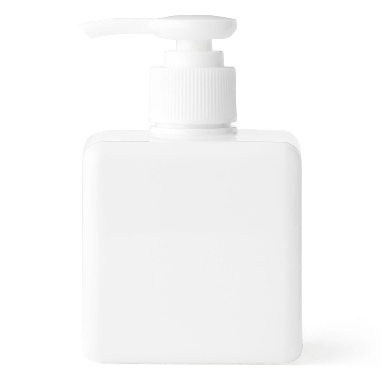 PET詰替ボトル クリア 250ml用 ホワイト
