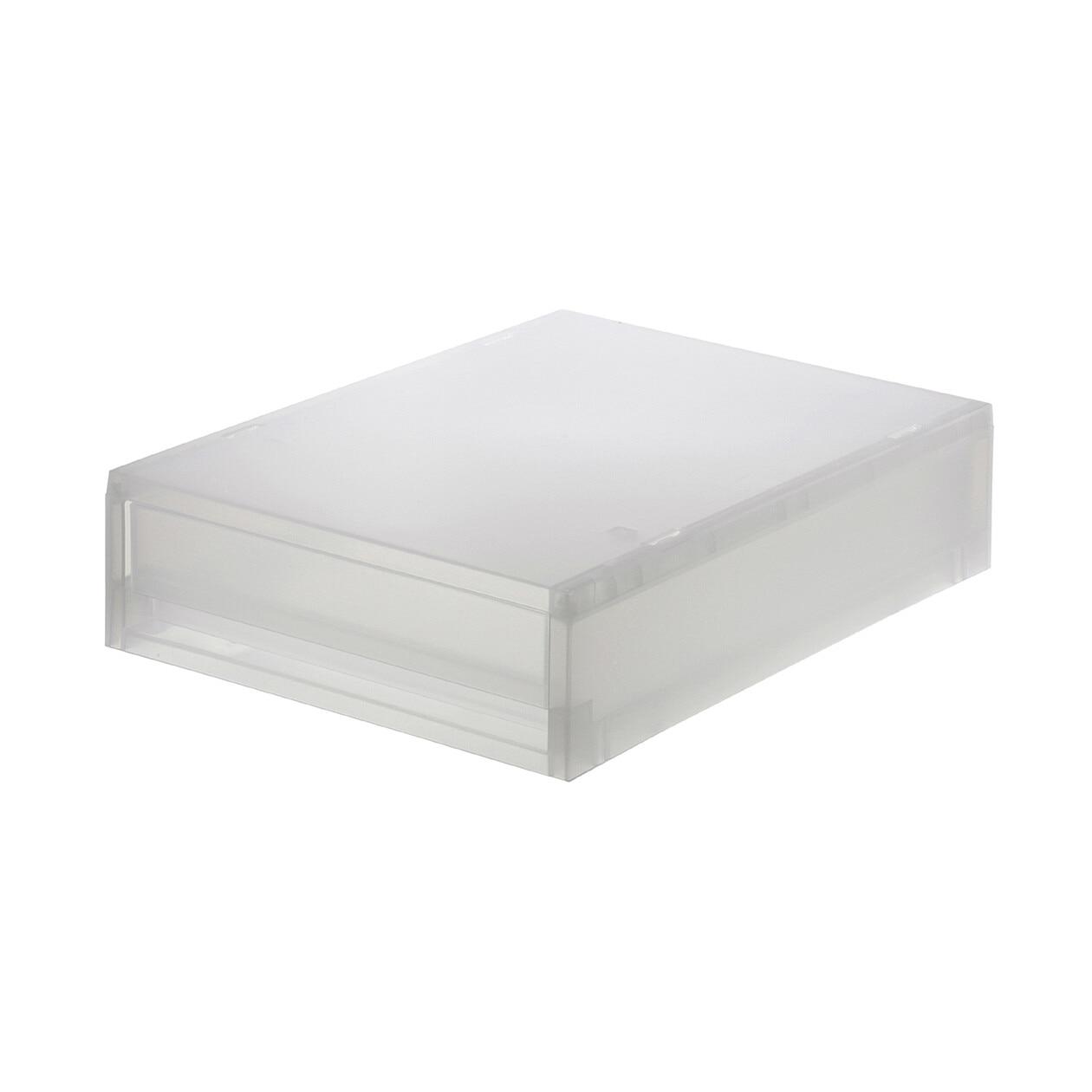RoomClip商品情報 - ポリプロピレンケース引出式・薄型・縦 透過