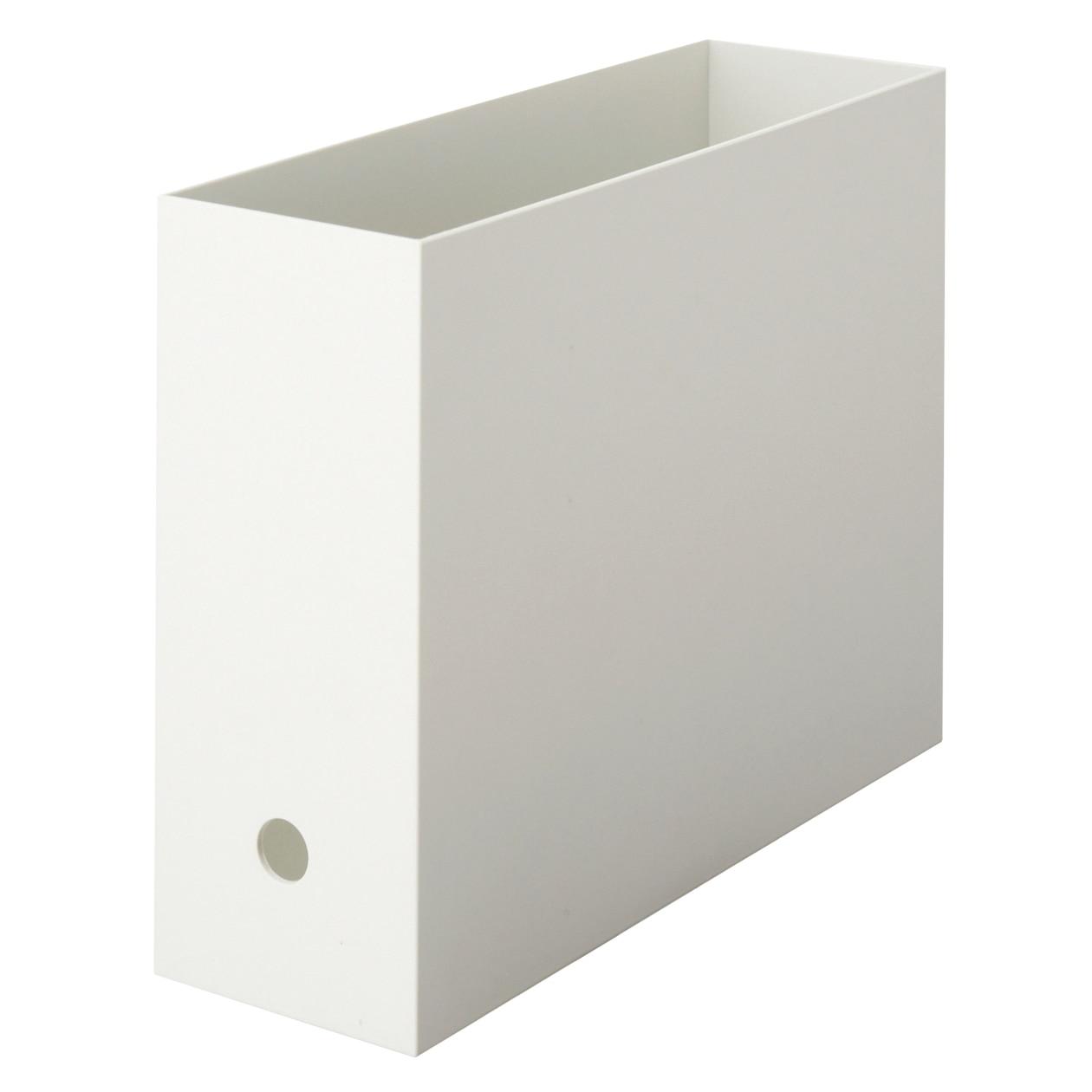 RoomClip商品情報 - 【まとめ買い】ポリプロピレンファイルボックス・スタンダードタイプ ホワイトグレー