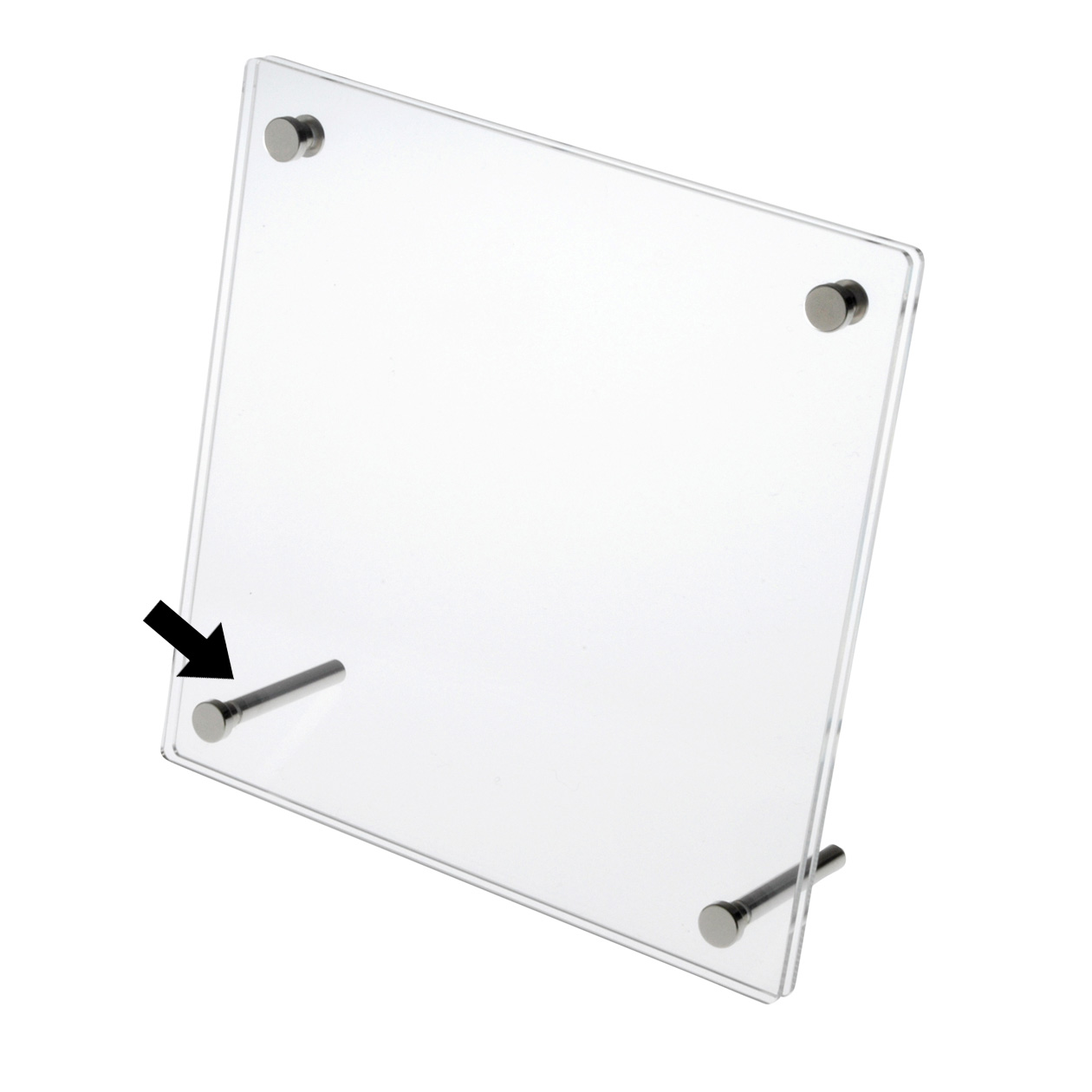 steel legs for acrylic puzzle frame - Muji Frames