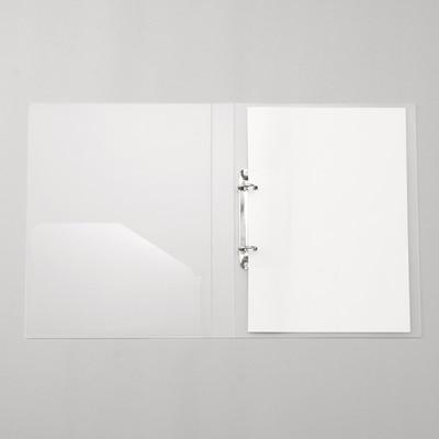 無印良品 | ポリプロピレンファイル(リング式)A4サイズ用・2穴・30mm 通販