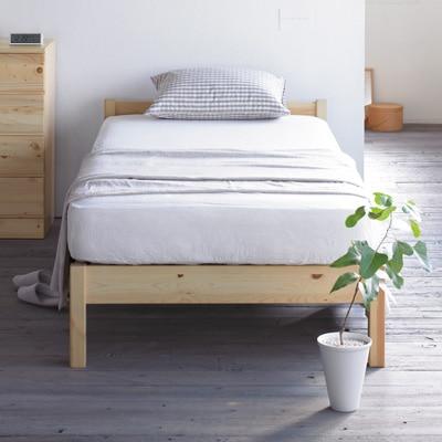 無印良品「パイン材ベッド」