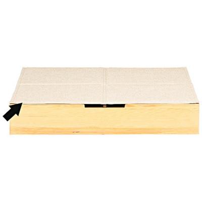 ポリエステル綿麻混・ベッド下収納ボックス用ふたの写真