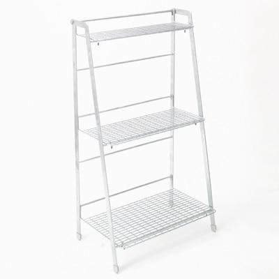 RoomClip商品情報 - 溶融亜鉛ガーデンシェルフ・3段