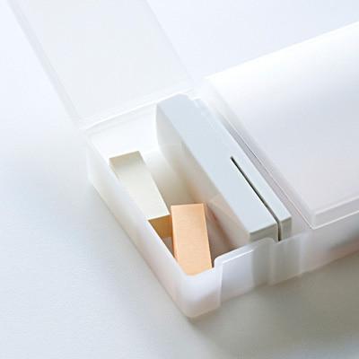 ポリプロピレン ダブルペンケース 約210×70×25mm コンビニ受取可