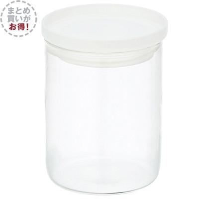 【まとめ買い】耐熱ガラス丸型保存容器 2