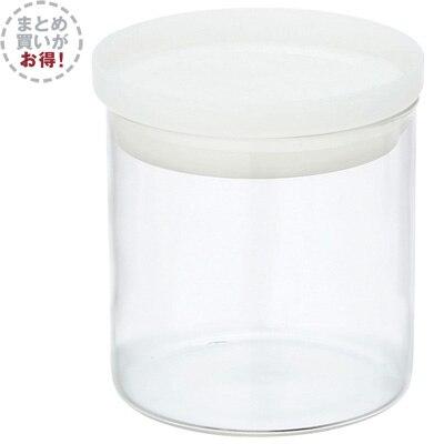 【まとめ買い】耐熱ガラス丸型保存容器 3