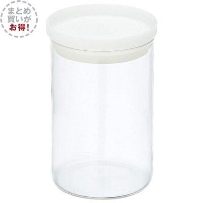 【まとめ買い】耐熱ガラス丸型保存容器 4