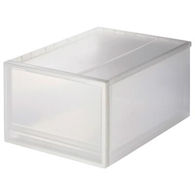 PP收納盒/大 約寬34×深44.5×高24cm | 無印良品