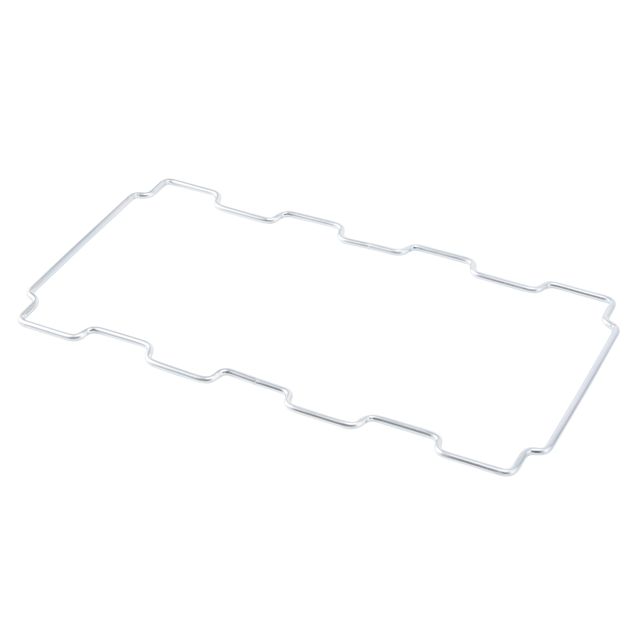 木製ごみ箱・袋止めワイヤー付 オーク材突板・角型 コンビニ受取可