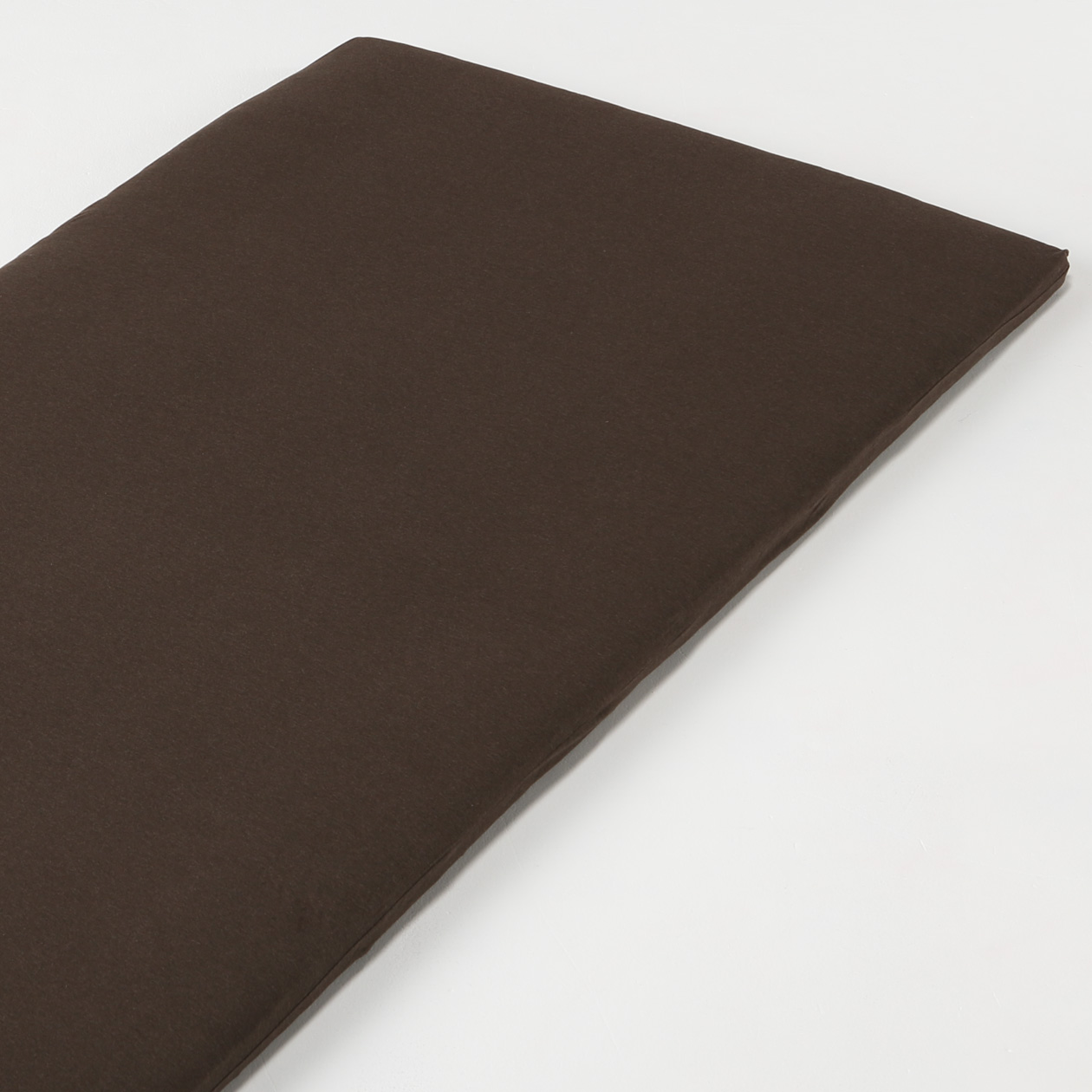 Organic Cotton Jersey Futon Cover S Brown