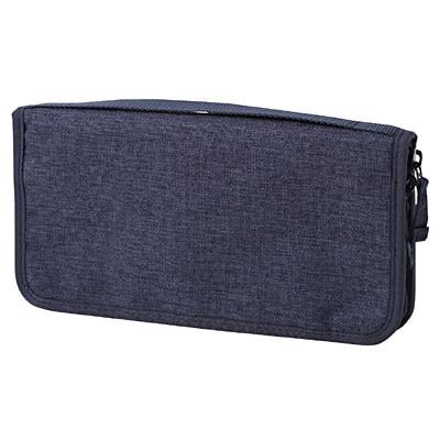 無印良品 | ポリエステルパスポートケース杢ネイビー・約23.5×12.5×厚さ2 通販