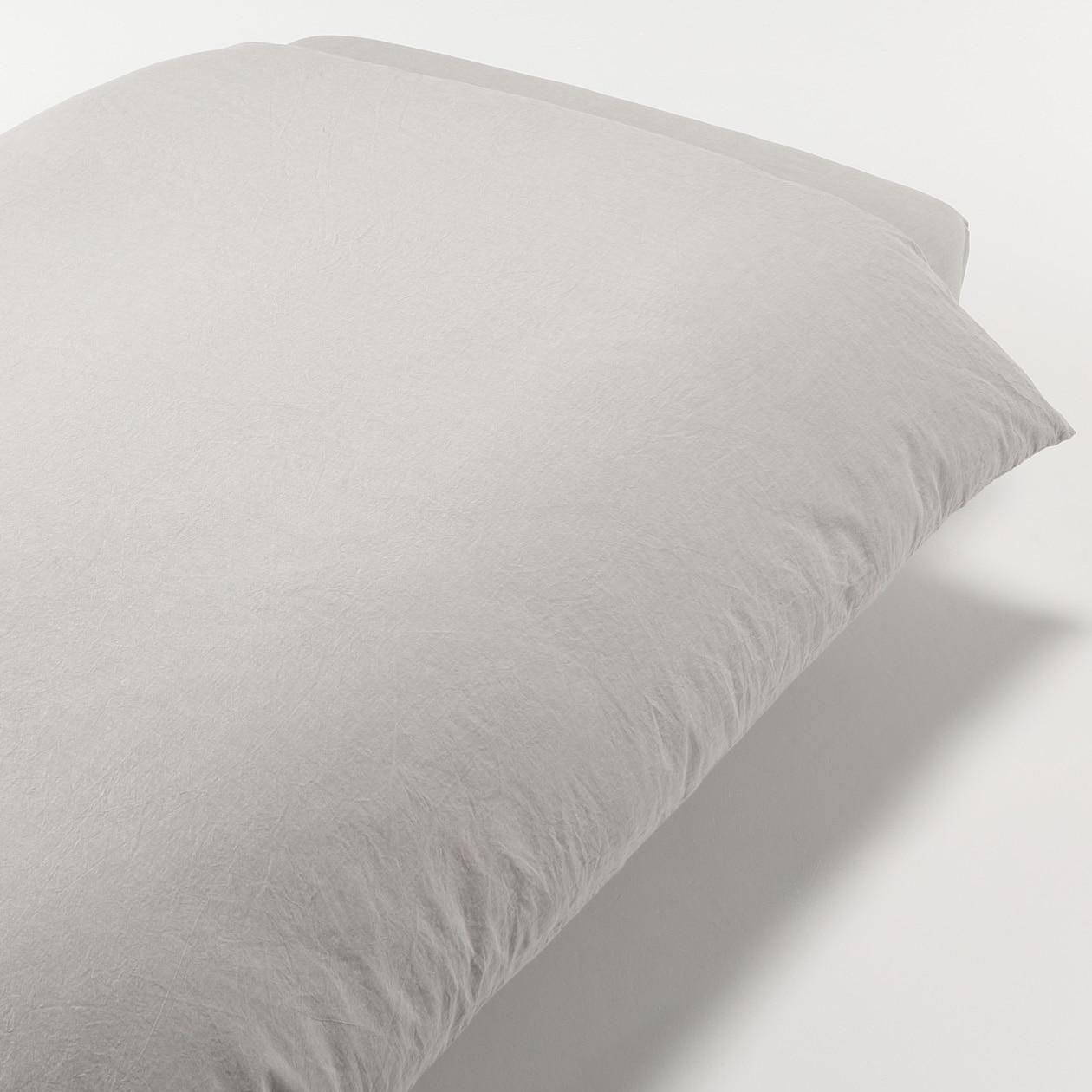 RoomClip商品情報 - オーガニックコットン洗いざらし掛ふとんカバー・S/ベージュ S/ベージュ