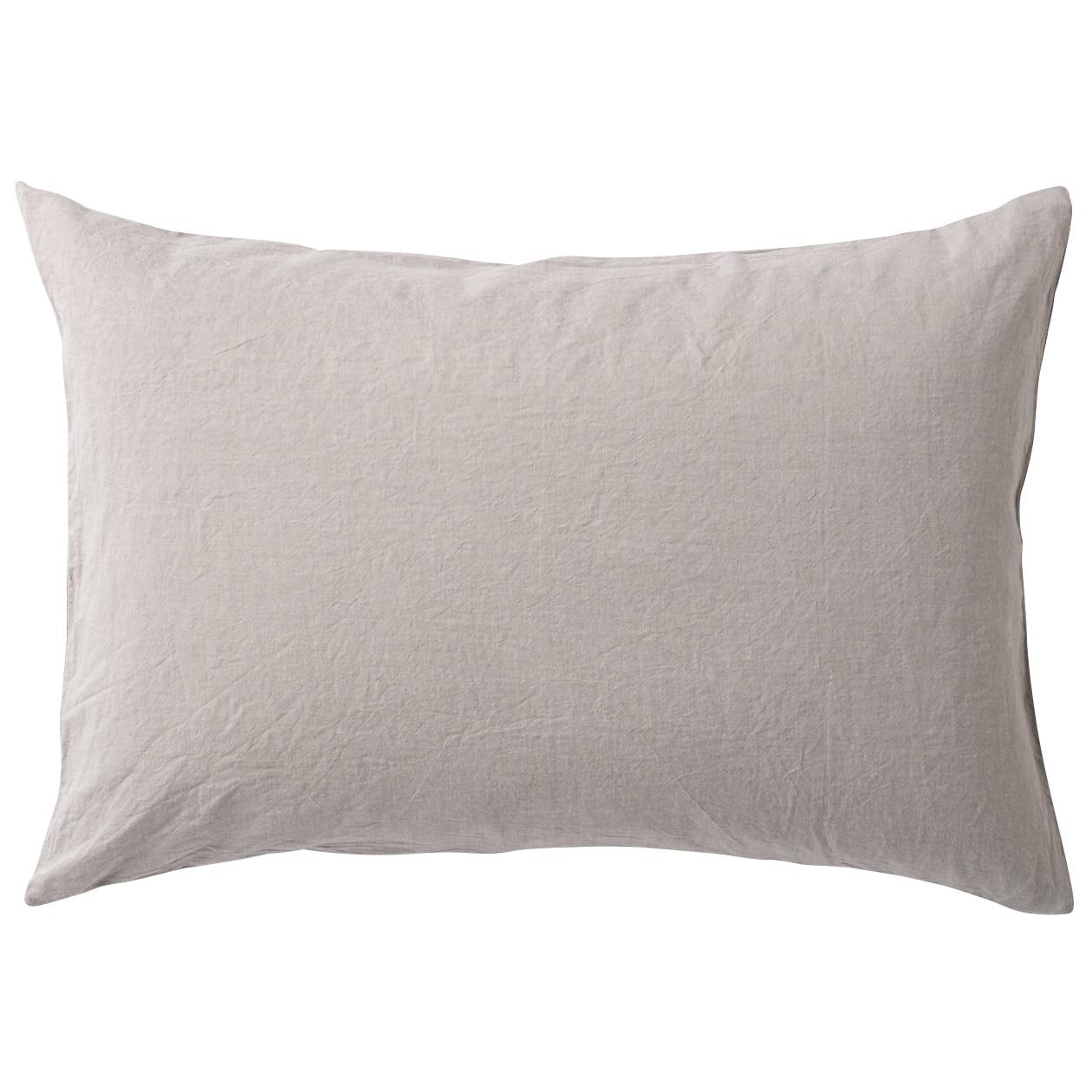 RoomClip商品情報 - オーガニックコットン洗いざらしまくらカバー/ベージュ 43×63cm用/ベージュ