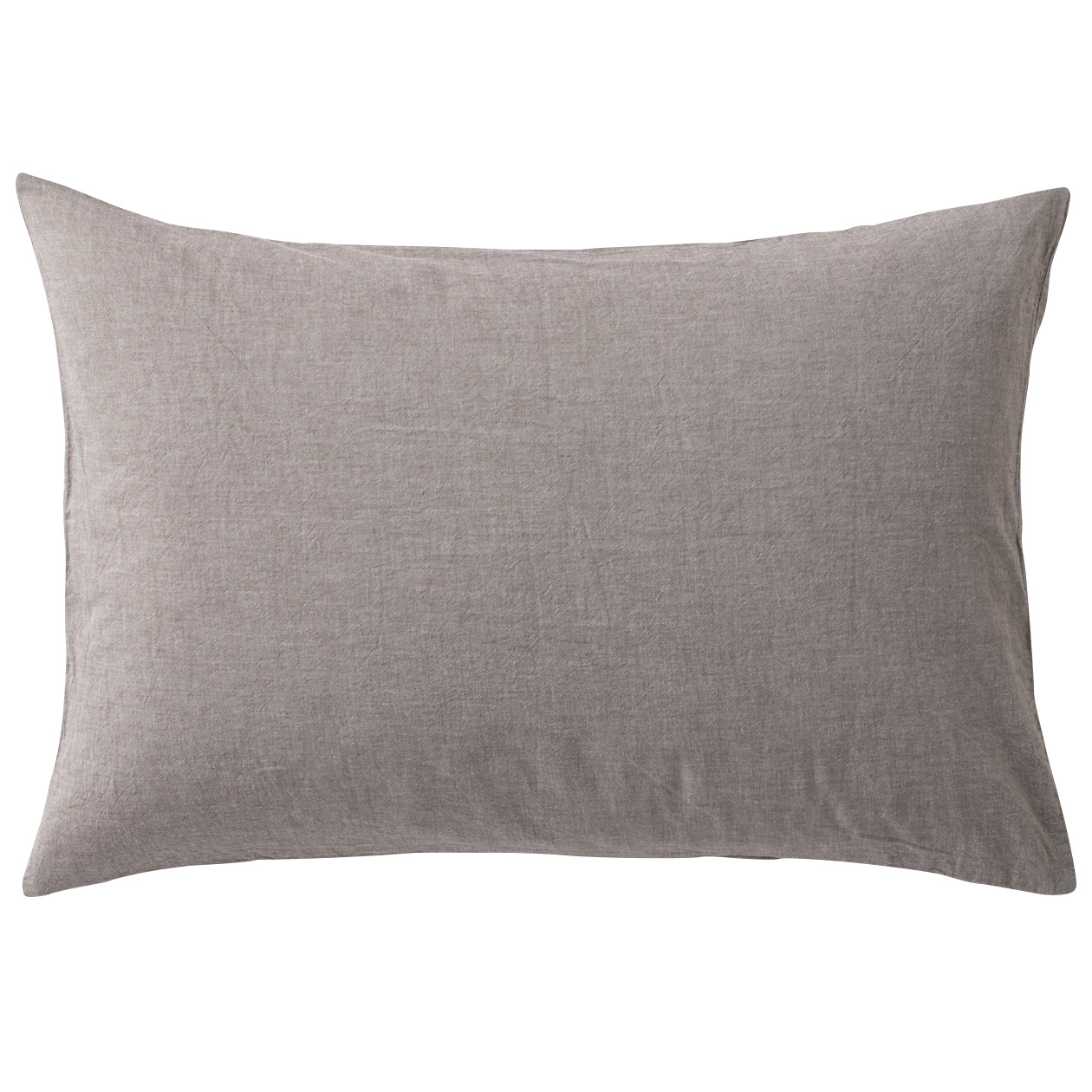 RoomClip商品情報 - オーガニックコットン洗いざらしまくらカバー/生成 43×100cm用/ブラウン