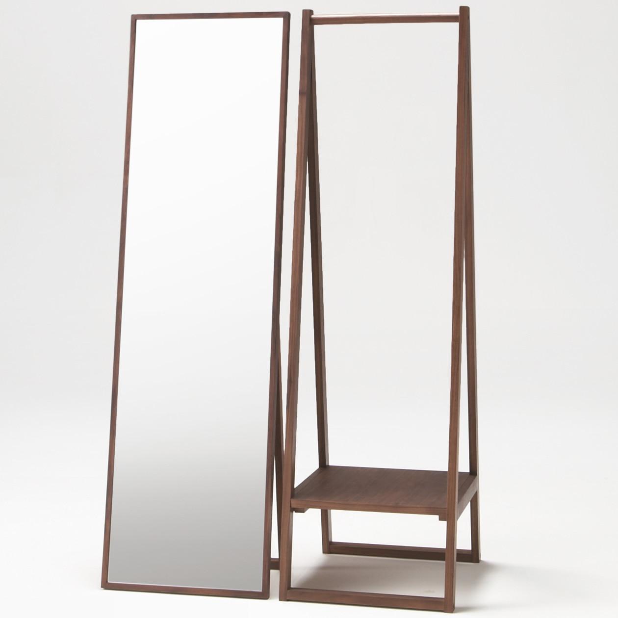 walnut coat rack muji. Black Bedroom Furniture Sets. Home Design Ideas