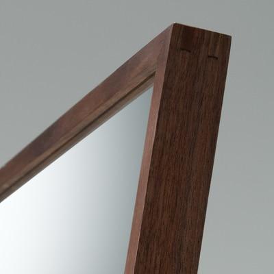 無印良品 | ウォールナット材ミラー大幅44×奥行33×高さ150.5cm 通販