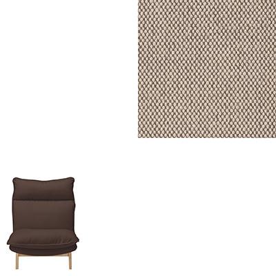 RoomClip商品情報 - 綿平織ハイバックリクライニングソファ・1シーター用カバー/ベージュ