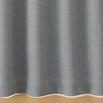 RoomClip商品情報 - ポリエステルバスケット織(防炎・遮光性)プリーツカーテン/グレー