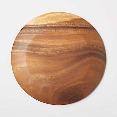 アカシア プレート 約直径26×高さ2cm コンビニ受取可
