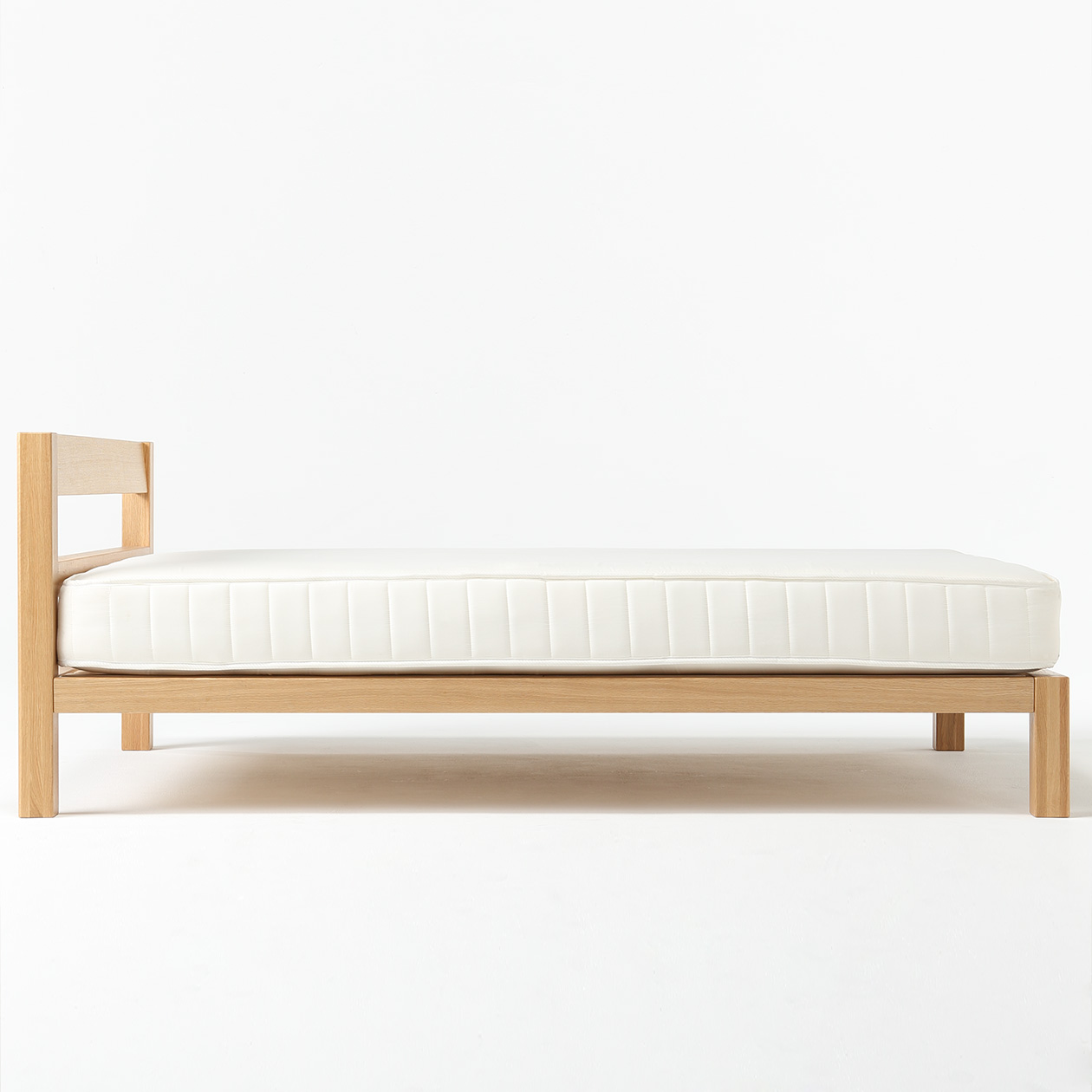 buy popular d8f96 304aa Oak Solid Wood Bed-Double | 無印良品 MUJI