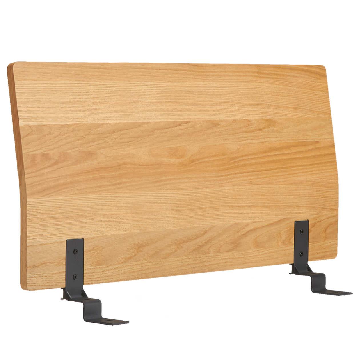 ベッドフレーム用ヘッドボード・セミダブル・オーク材