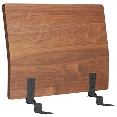 ベッドフレーム用ヘッドボード・スモール・ウォールナット材