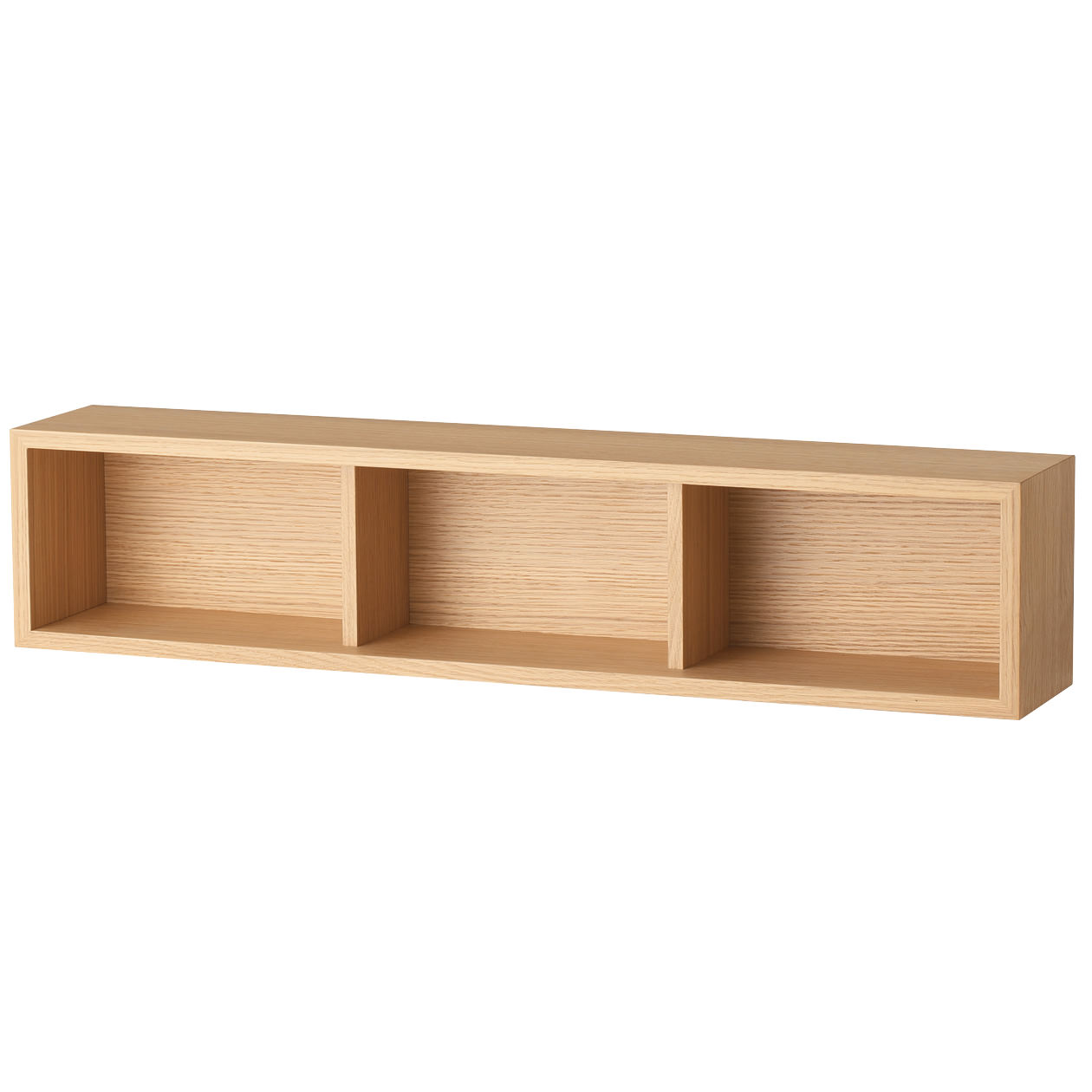 RoomClip商品情報 - 壁に付けられる家具・箱・幅88cm・オーク材