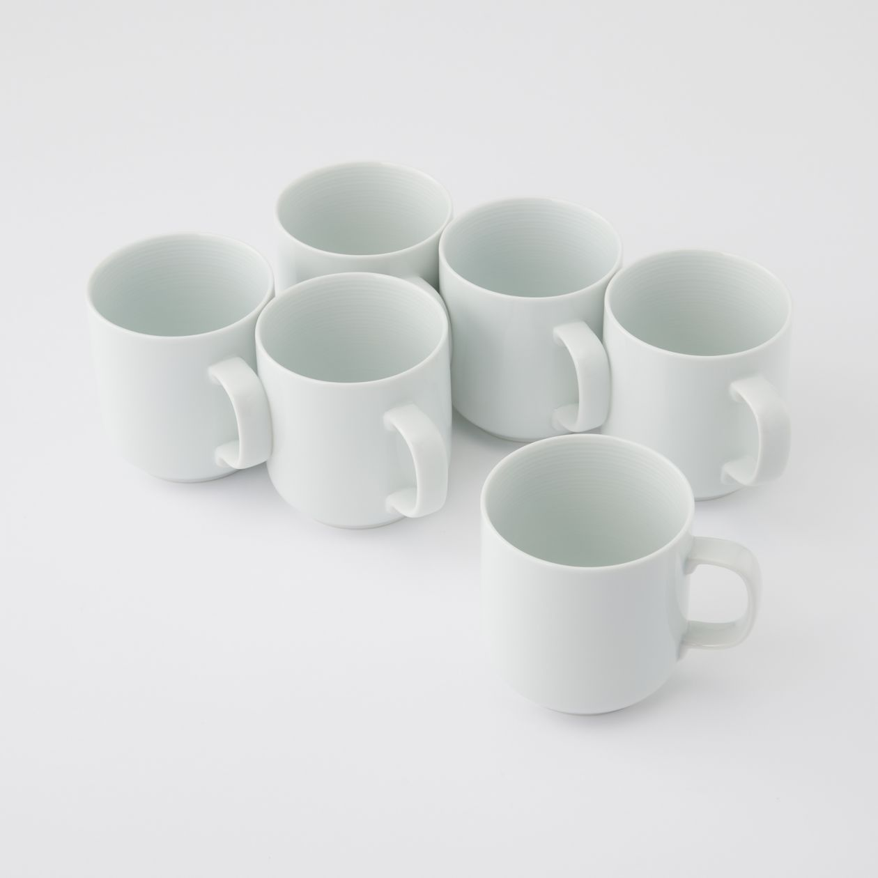 【まとめ買い】白磁マグカップ