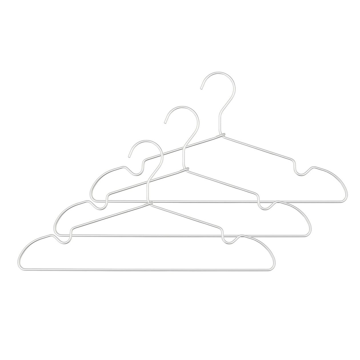 RoomClip商品情報 - 【まとめ買い】アルミ洗濯用ハンガー・肩ひもタイプ・3本組