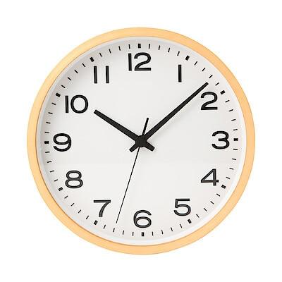 無印良品【ブナ材電波時計 掛時計】