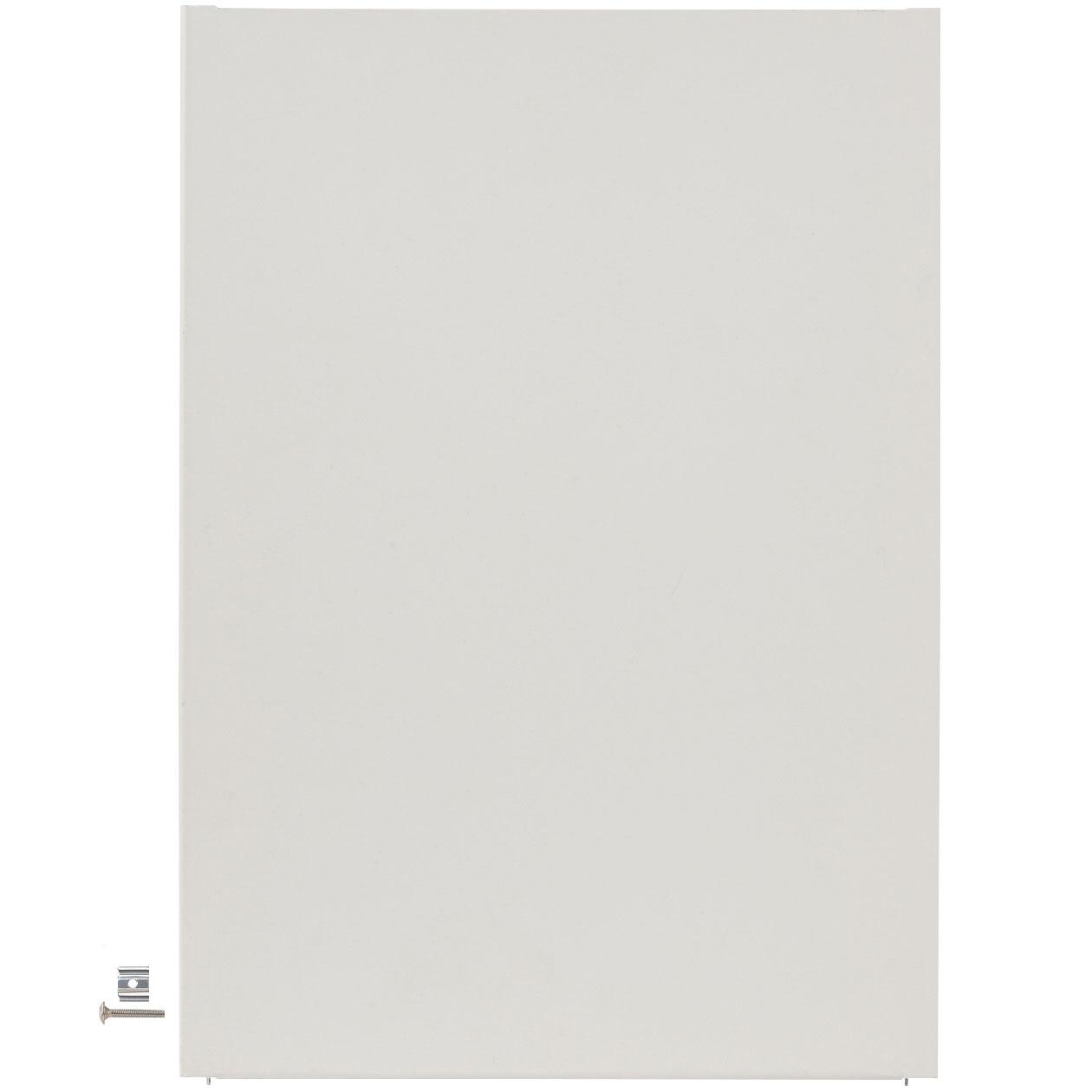 スチールユニットシェルフ・サイドパネル・インナー用・大・ライトグレー