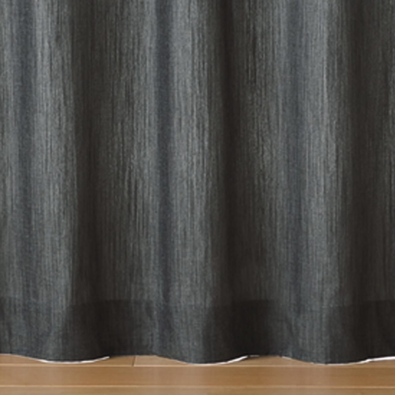 RoomClip商品情報 - 綿デニムプリーツカーテン/ネイビー