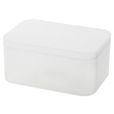 RoomClip商品情報 - ポリプロピレンメイクボックス・蓋付・大