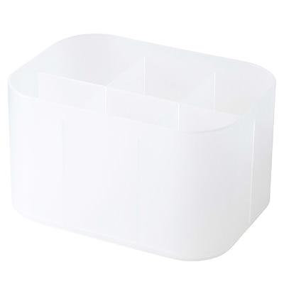 RoomClip商品情報 - ポリプロピレンメイクボックス・仕切付・1/2横ハーフ