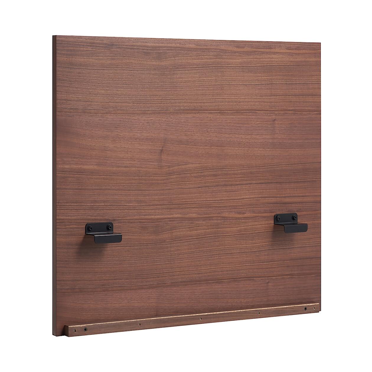 収納ベッド用ヘッドボード・スモール・ウォールナット材