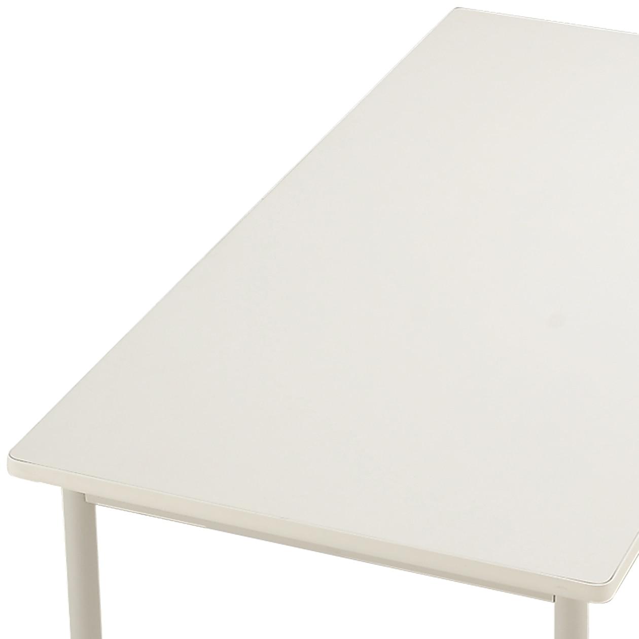 デスク天板・メラミン・幅120cm/白(システムタイプ)