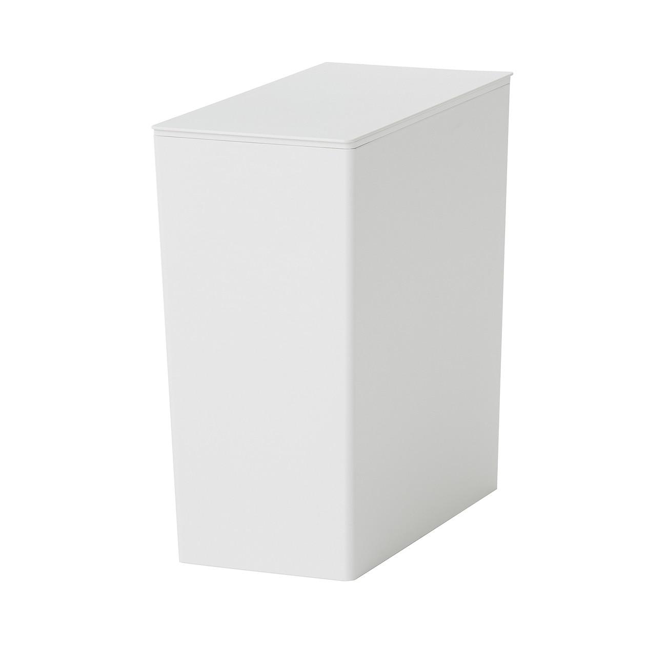 ポリプロピレンごみ箱・角型・袋止め付/大(約11L)