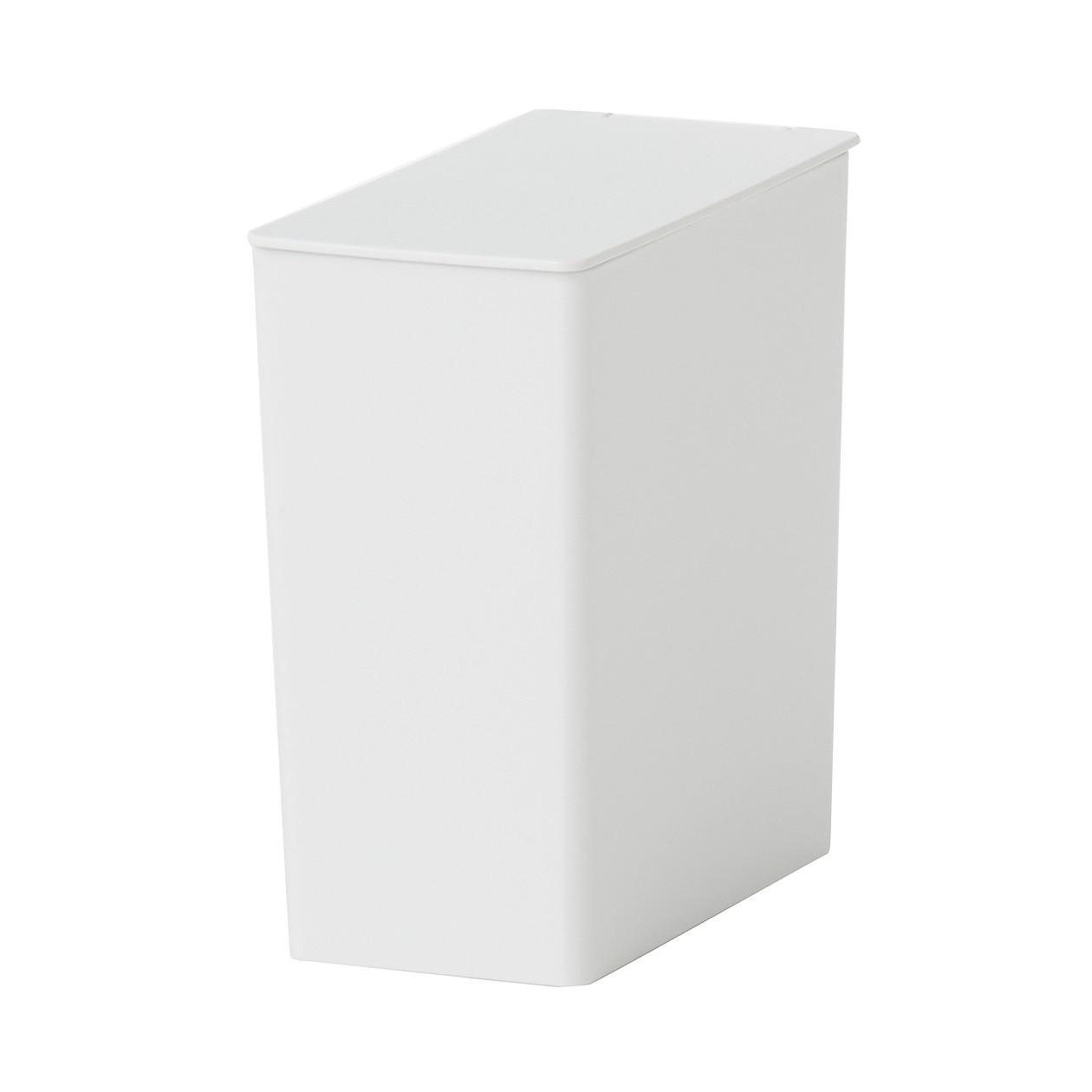 ポリプロピレンごみ箱・角型・ミニ(約0.9L)の写真