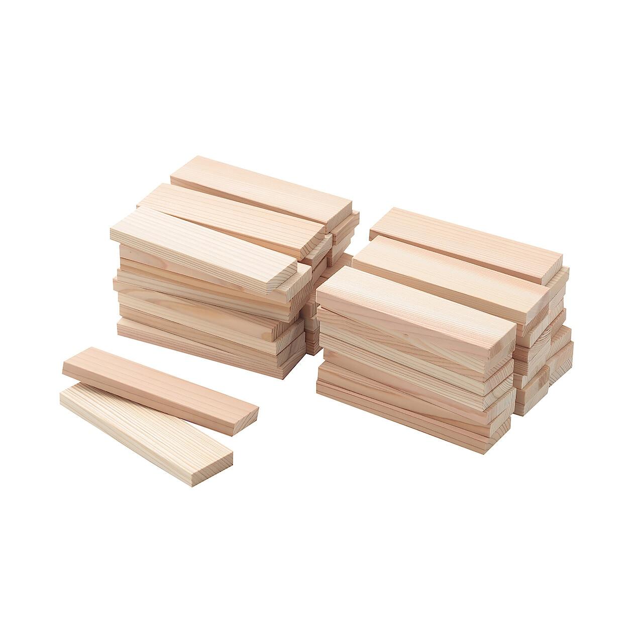 日本の木のおもちゃ_かまぼこ板のつみき