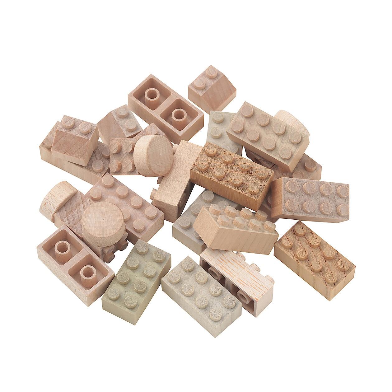 日本の木のおもちゃ_木のブロック・もくロック・小