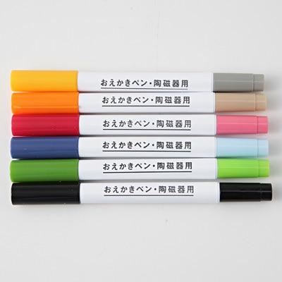 """無印良品からも""""陶磁器用 おえかきペン""""が発売され、品薄状態に。今回はらくやきマーカーの使い方と、皆さんの作品をチェック!(2ページ目)"""